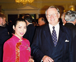 With New Zealand's Prime Minister James Bolger
